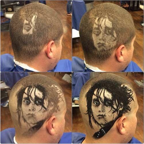 """Thích thú tột độ với những kiểu tóc """"mặt người"""" - 10"""