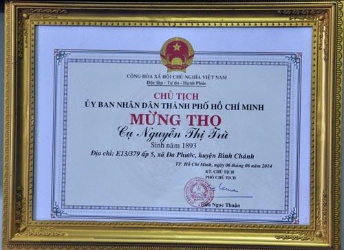 Cụ bà cao tuổi nhất Việt Nam: Có cả trăm con cháu - 4