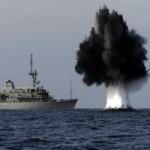 Tin tức trong ngày - Tàu chiến TQ lần đầu diễn tập quét mìn ở Biển Đông