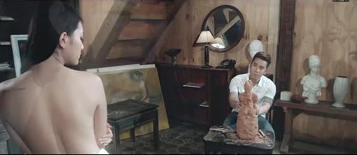 Bạn gái bán nude để Lê Hoàng (The Men) tạc tượng - 1