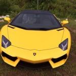 Ô tô - Xe máy - Lamborghini Aventador màu vàng vừa về Quảng Ninh