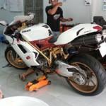 Ô tô - Xe máy - Ducati 848 EVO mạ vàng 24K đầu tiên tại Việt Nam