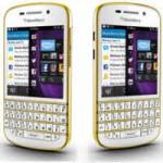 Thời trang Hi-tech - BlackBerry Q10 có phiên bản màu vàng