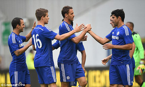 Vitesse - Chelsea: Costa, Fabregas phô diễn tài năng - 1