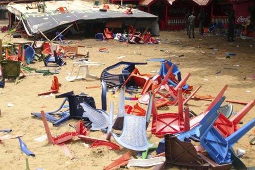 Guinea: Giẫm đạp tại buổi hòa nhạc, 34 người chết - 1