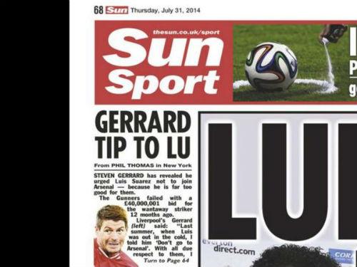 """""""Arsenal không đủ đẳng cấp để Suarez tới thi đấu"""" - 1"""