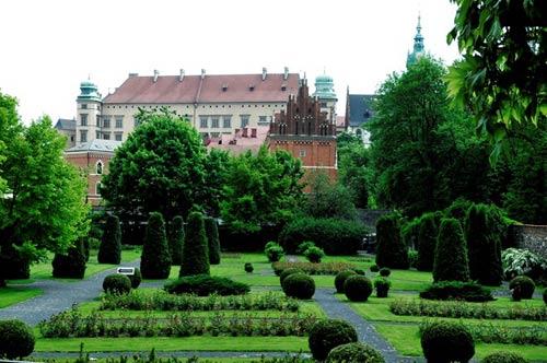 Đẹp tráng lệ cung điện Hoàng gia cổ ở Ba Lan - 15