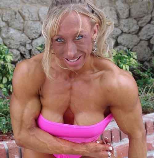 Bí mật gây sốc của nhiều người đẹp cơ bắp - 6