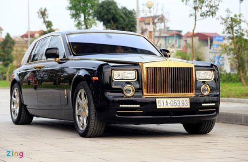 6 xe sang mạ vàng ấn tượng ở Việt Nam - 6