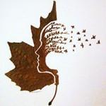 Bạn trẻ - Cuộc sống - Chàng trai sáng tạo nghệ thuật trên lá đến khó tin