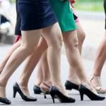 Thời trang - Khám phá bí mật giày cao gót của nữ công sở Hà thành