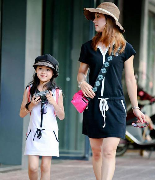 Bí quyết may váy đôi đẹp cho mẹ và bé - 7