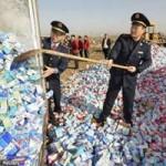 Tin tức trong ngày - TQ thu giữ 12 tấn kẹo sữa chua chứa độc tố melamine