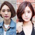 Bạn gái thêm xinh với tóc ngắn Hàn Quốc