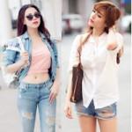 Thời trang - Bí quyết mặc đồ jean mát mẻ trong mùa hè