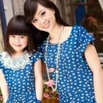Thời trang - Bí quyết may váy đôi đẹp cho mẹ và bé