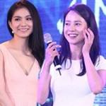 """Phim - Hoa hậu Thùy Lâm quyến rũ bên """"nữ hoàng cảnh nóng"""" HQ"""