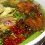 Ẩm thực - Cuối tuần đổi vị với bún cá rô đồng