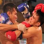 Thể thao - Á quân thế giới Muay Thái ra đòn làm đối thủ choáng
