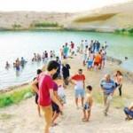 Du lịch - Kì lạ hồ nước bỗng nhiên xuất hiện ở sa mạc