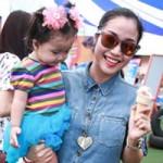 Ca nhạc - MTV - Ốc Thanh Vân bồng con đi dự sự kiện