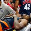 Ngôi sao NBA dính chấn thương kinh hoàng