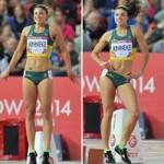 """Thể thao - Người đẹp chạy vượt rào """"nhảy múa"""" khi thi đấu"""
