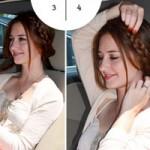 Làm đẹp - 4 kiểu tóc dễ dàng thực hiện trên... xe hơi