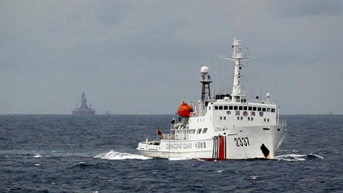 """TQ tuyên bố """"thích xây gì thì xây"""" tại Biển Đông - 1"""