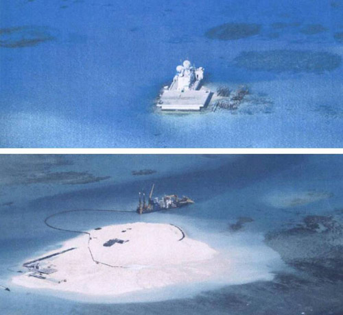 """Mỹ không chấp nhận TQ """"xây gì thì xây"""" ở Biển Đông - 2"""