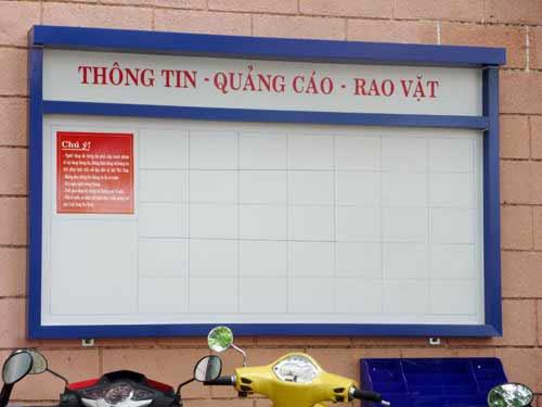 Đà Nẵng: DN được quảng cáo, rao vặt miễn phí cạnh... WC! - 1