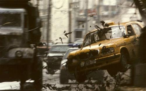 """Video: Cảnh rượt đuổi phim """"Quyền lực của Bourne"""" - 2"""