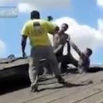 Phi thường - kỳ quặc - Bắt trộm trên mái nhà như trong phim hài