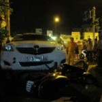 An ninh Xã hội - Mâu thuẫn vì tình, tài xế taxi lao thẳng xe vào tình địch
