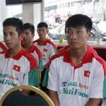 """Bóng đá - 3 đầu bếp """"tháp tùng"""" U19 VN đấu giải U22 ĐNA"""