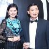 Cả nhà chồng Hà Tăng cùng dự sự kiện
