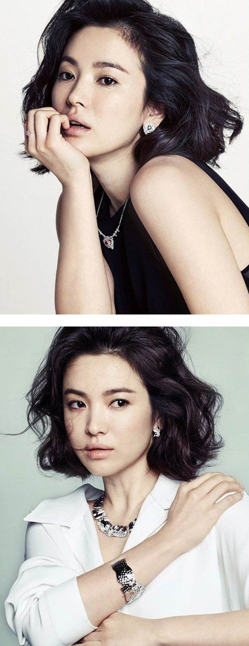 Song Hye Kyo đẹp quý phái với trang sức hàng hiệu - 4