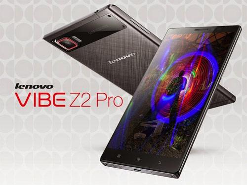 Lenovo Vibe Z2 Pro màn hình QHD giá đắt - 1