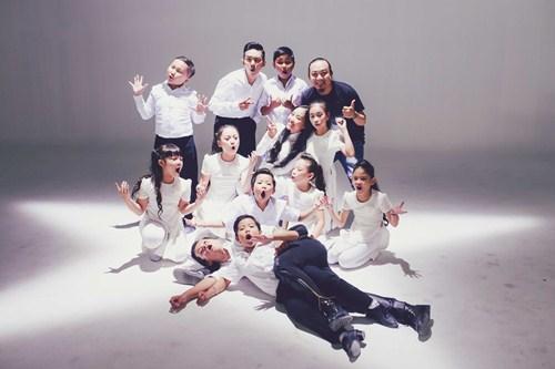 Đoan Trang làm MV cùng học trò Bước nhảy hoàn vũ nhí - 9