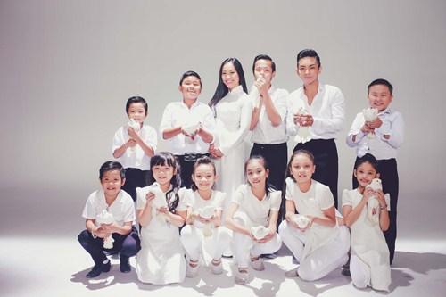 Đoan Trang làm MV cùng học trò Bước nhảy hoàn vũ nhí - 6