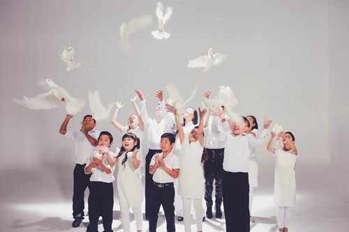 Đoan Trang làm MV cùng học trò Bước nhảy hoàn vũ nhí - 7