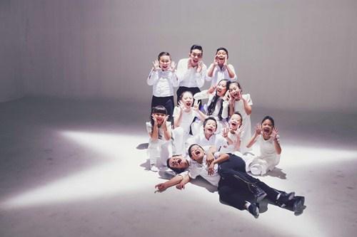Đoan Trang làm MV cùng học trò Bước nhảy hoàn vũ nhí - 8