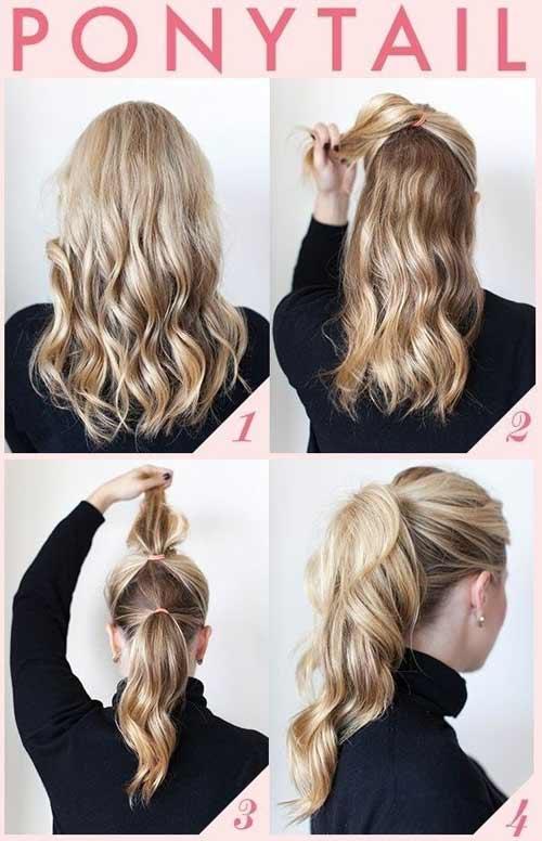 Muôn kiểu biến tấu thú vị của tóc đuôi ngựa - 1