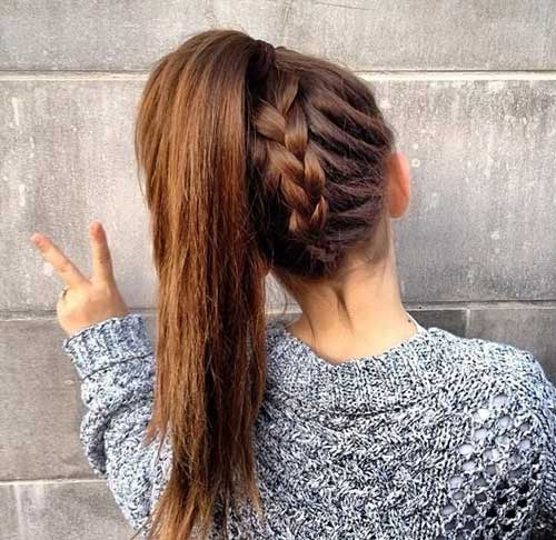Muôn kiểu biến tấu thú vị của tóc đuôi ngựa - 7