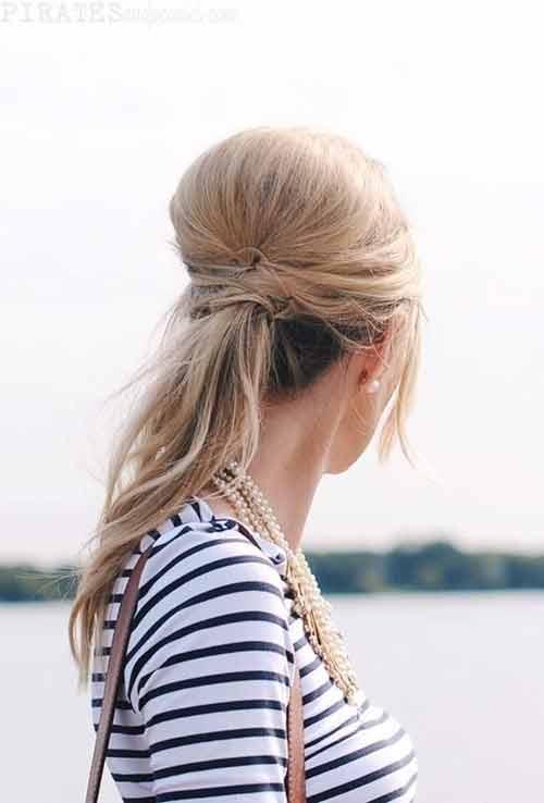 Muôn kiểu biến tấu thú vị của tóc đuôi ngựa - 9