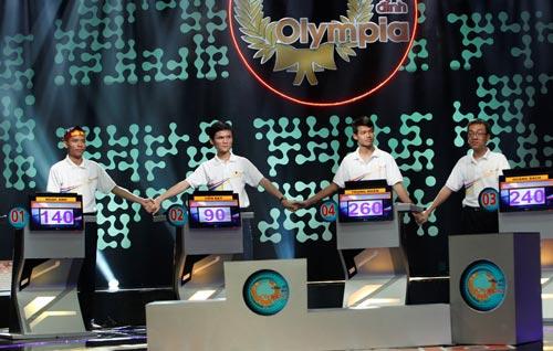 VTV giữ nguyên kết quả chung kết Olympia lần thứ 14 - 1