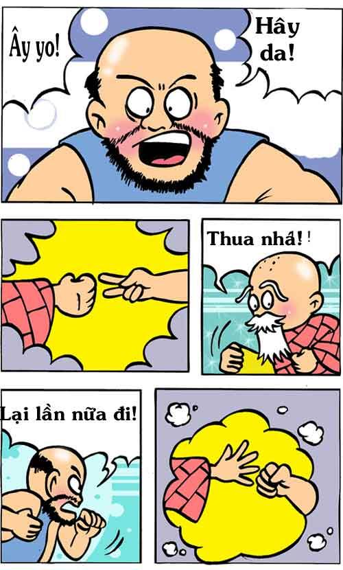 Thiếu Lâm hài (12): Đọ bản lĩnh đàn ông - 1