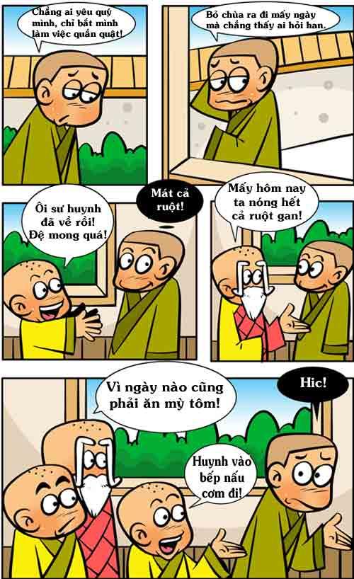 Thiếu Lâm hài (13): Từ dạ dày đến cái ví tiền - 1