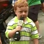 """Bạn trẻ - Cuộc sống - Sốt với clip cậu bé thích """"rõ ràng"""""""