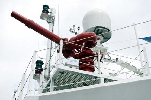 Tàu kiểm ngư hiện đại nhất VN về đến Vũng Tàu - 6